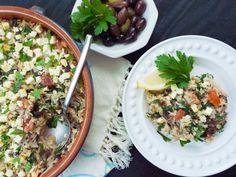 Greek Rice Casserole with Ground Turkey (Low-FODMAP, Gluten Free)