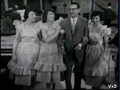 McGuire Sisters & Steve Allen:  Banana Split 1958