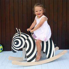 Zebra | rocking horse