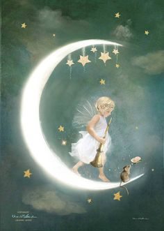 Fairy of Friendship  Mounted or unmounted or two sizes of