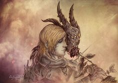 Dragon age inquisition, Cole by Agregor