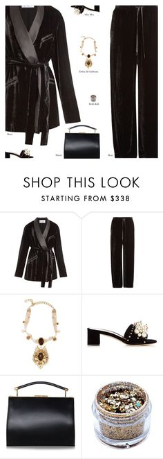 """Untitled #4224"" by amberelb ❤ liked on Polyvore featuring Raey, Dolce&Gabbana and Miu Miu"