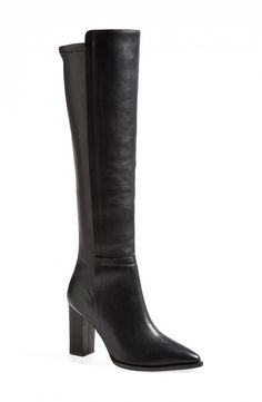 The Best Fall Boots for Short Girls via @WhoWhatWear - Loeffler Randall Minetta Knee-High Boots ($695)