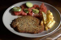 Milanesas de soja y germen de trigo. | ¡Recetas Veganas!