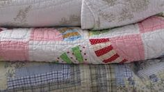Old quilts...best nap blankets EVER.  If you haven't tried it, you are seriously missing out.