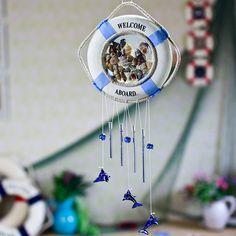 Home decoration handmade bunts shell wind chimes hangings door trim $21.9