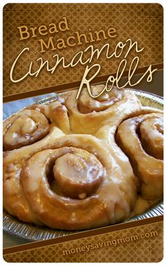 Bread-Machine-Cinnamon-Rolls