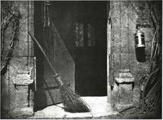 WILLIAM HENRY FOX TALBOT. The Open Door, 1843. Salted paper print from a calotype negative. (Plate VI, The Pencil of Nature, 1844-46.) Fox Talbot Collection, Science Museum, London.