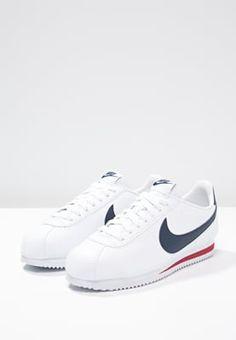 new product 791e4 f9204 Nike Sportswear CLASSIC CORTEZ - Tenisówki i Trampki - white midnight  navy gym red