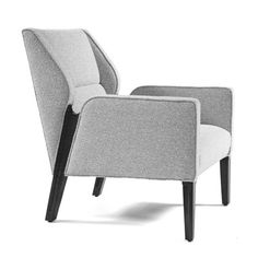 JETT LOUNGE CHAIR W: 27.5 D: 34 H: 35.25 Arm Height: 24 Seat Height: 17