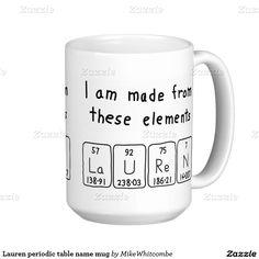 Laurence periodic table name mug tables table names and periodic laurence periodic table name mug tables table names and periodic table urtaz Choice Image