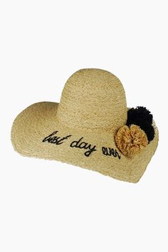f46861b0bbd What s Your Motto Sunhat - Best Day Ever