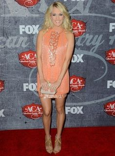 Carrie Underwood at the American Country Awards.