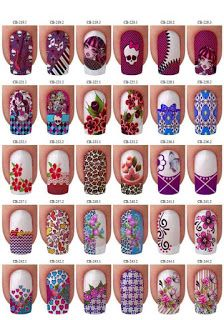 Que tal animal print Cute Nail Art, Cute Nails, Pretty Nails, Types Of Nails, Nail Arts, Summer Nails, Nail Art Designs, Holiday Decor, Manicures