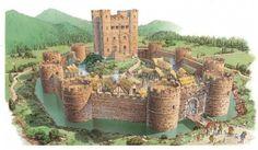 kasteel met slotgracht