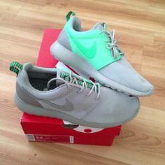 Nike Roshe Run - Sporting the fresh Roshe Runs #nike #sneakers