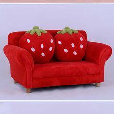 Childs Strawberry Sofa