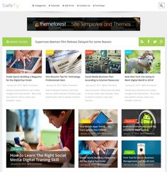 This portfolio Blogger theme includes a responsive layout, support for Disqus comments, unlimited colors, threaded comments, SEO-friendly code, a news ticker, a contact page, an error page, and more.