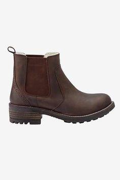 www.ellos.se ellos-shoes chelseaboots-i-skinn-varmfodrade 1047209-01