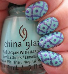 China Glaze 'Too Yacht to Handle,' Hit the Bottle 'Purple Reign,' and Born Pretty Store BP-L016