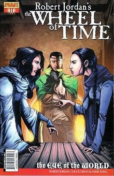 Robert Jordan Wheel of Time Eye of the World comic book - issues #11