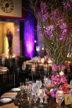 flores, ramas, velas