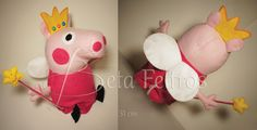 Peppa - Fada do Dente - Feltro