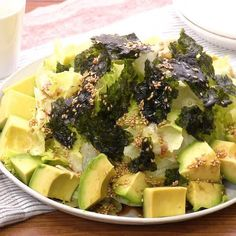 Japanese Side Dish, I Love Food, Good Food, Asian Recipes, Healthy Recipes, No Cook Meals, Vegetable Recipes, Food Videos, Dinner Recipes