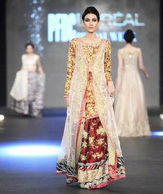 74a4df4733 Zara Shahjahan Latest Bridal Collection 2016-2017   BestStylo.com Latest  Bridal Lehenga Designs