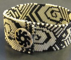 Open Seed Arts: Finished Cuff
