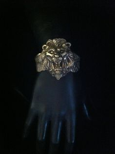 Lion's Soar cuff by FlorencioDesigns on Etsy