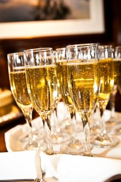 Boulder Champagne at Wedding by Brian Kraft Photography