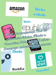 Homepageshops  Hier geht es zu allen Shops über die du meine Produkte erwerben kannst
