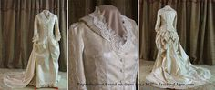 Enchanted Serenity of Period Films: Victorian Wedding Gallery...Imperial Victorian Wedding Gown modelled on 1837 dress found at Frocks of Ages