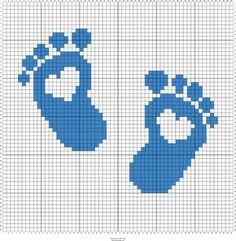 Rate this post Stitch Fiddle is an online crochet, knit and cross stitch maker. Stitch Fiddle is an online crochet, knit and cross stitch maker. Footprints with heart cross stitch pattern maker. Cross Stitch Pattern Maker, Baby Cross Stitch Patterns, Cross Stitch Baby, Cross Stitch Alphabet, Cross Stitch Charts, Cross Stitch Designs, Cross Stitching, Cross Stitch Embroidery, Embroidery Patterns