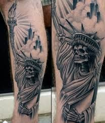 50 Best Statue Of Liberty Tattoo Images Statue Of Liberty Tattoo