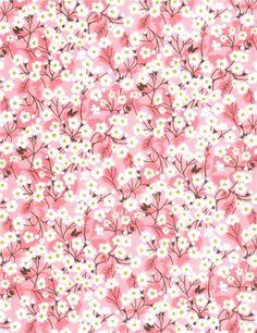 Stragier - Liberty Tana Lawn - 8022 Mitsi Valeria - Orchidée rose