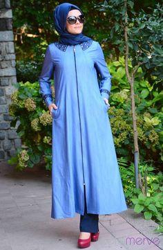 İpeksy Ferace 1211-01 Mavi