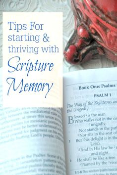 Whether you memorize on your own or as a family, memorizing scripture is one of the best things you can do in your walk with Christ. Here are the top things we've learned and others have shared to memorize scripture.