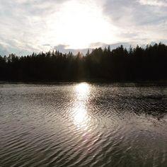 #trekking al #lago di #tret #camminare nel #bosco #montagna #vacanzainmontagna #trentino #falchettolovers #falchettonature #lake #sun #tramonto @visittrentino @trentinodavivere @valdinon