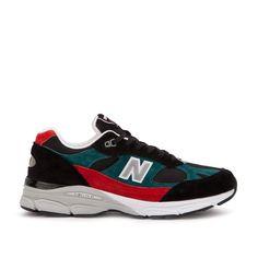 "New Balance M 9919SCF – Made in England "".9 Pack"" (Schwarz / Rot / Türkis) #lpu #sneaker #sneakers"