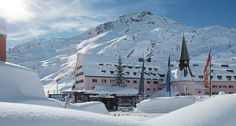 Skiing at the Arlberg Massif in Austria is a winter sports experience of the highest level. (Pictured: Arlberg Hospiz Hotel - St. Christoph, Austria)
