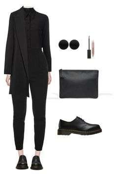 """Untitled #2792"" by magnesium3 ❤ liked on Polyvore featuring ASOS, STELLA McCARTNEY, Yves Saint Laurent, Alexander McQueen, The Row, Dr. Martens, Thomas Sabo and Burberry"