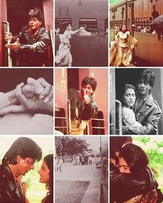 Shah Rukh Khan and Kajol - DDLJ (1995)