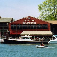 The Crab Claw restaurant - St. Michaels, MD