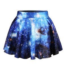 $23.00 | Space galaxy digital printing skirt  BA721EI