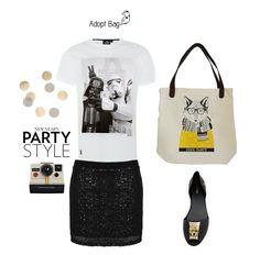star wars t-shirt; raposa, fox; adoptbag; look preto