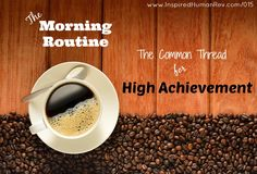 The Morning Routine 015 Miracle Morning, Morning Routines, Consistency, Success, Heart, Hearts