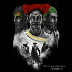 Image may contain: 2 people Warriors Wallpaper, Shiva Wallpaper, Happy Holi Wallpaper, Shivaji Maharaj Painting, Indian Flag Wallpaper, Shivaji Maharaj Hd Wallpaper, History Posters, Great Warriors, Krishna Statue