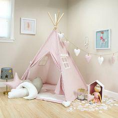 Trey Bella Pink teepee kids teepee tent childrens teepee